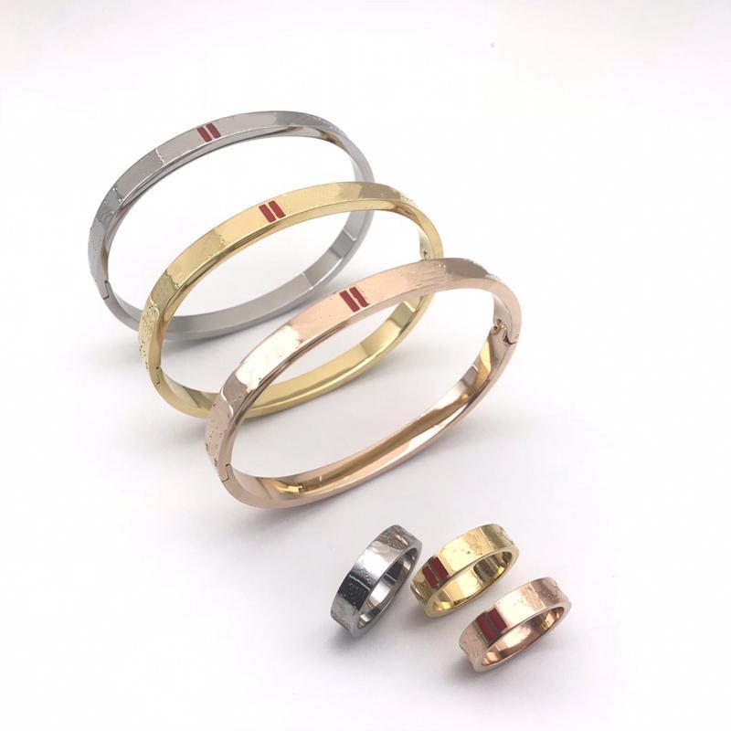 Мода браслеты любви браслет мужские золотые браслеты роскоши дизайнерские украшения женщины из нержавеющей стали золотые покрыты не аллергически не исчезают пузыря