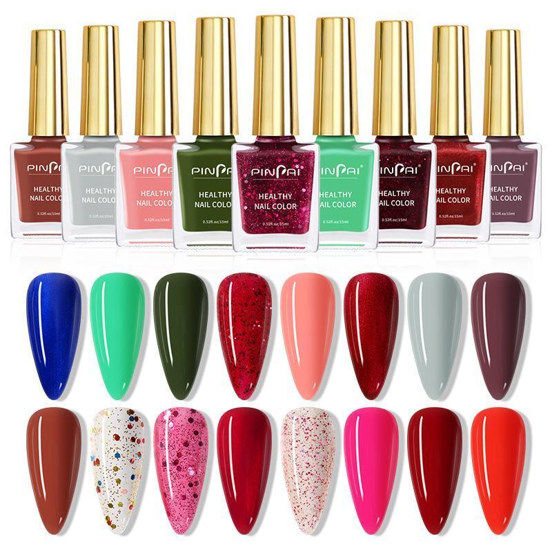 Chiodo Polish Colors 15ml glitter lucido Arte smerigliata Arte Vernish Paillettes Tips Tips Decoration Lacca Manicure