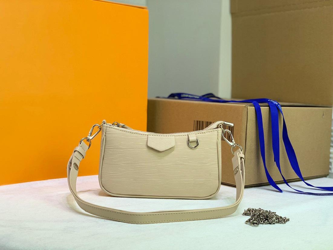 Origina Alta Qualidade Luxuoso Designer Bag Handba Wallet Mulheres Messenger Bolsas Easy Bolsa Na Correia Tote Pochette Ombro Crossbody Bags Carteiras