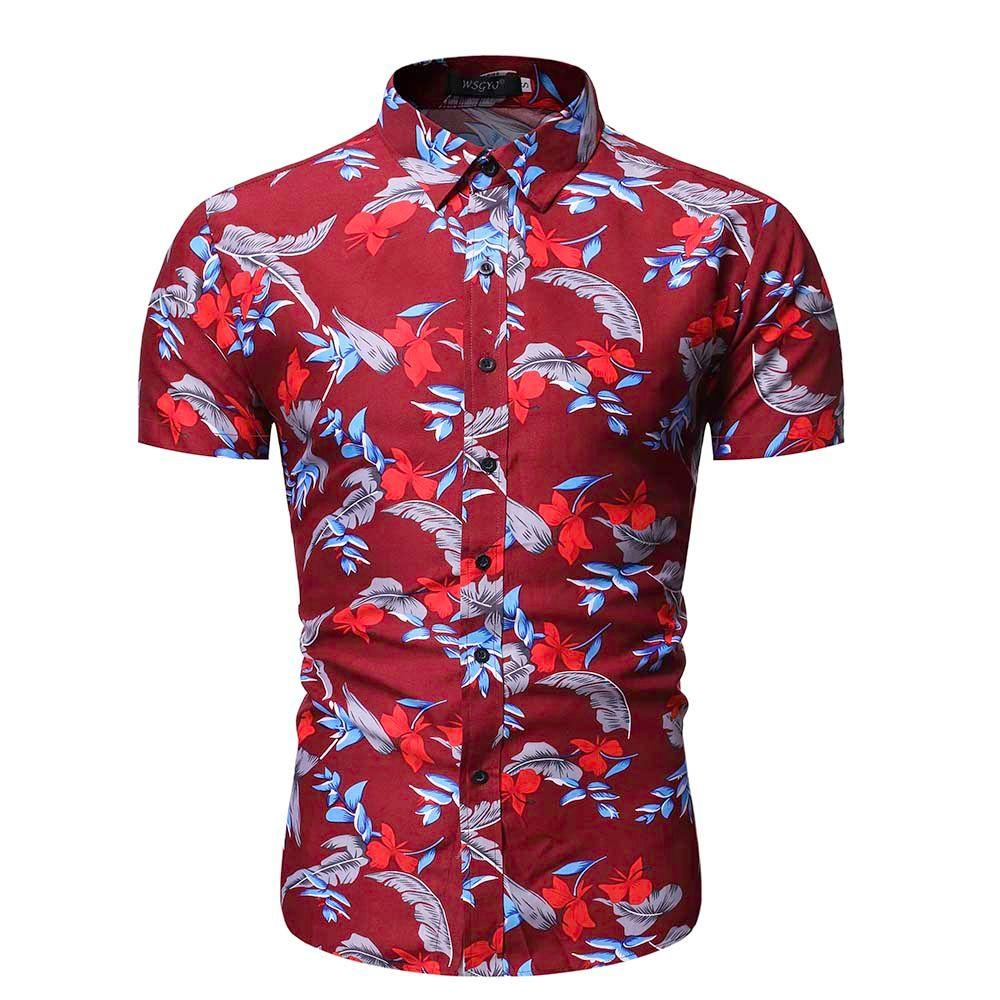 camisa impresa hombres camisa hawaiana camisa de manga corta verano casual moda playa flor camisas para hombre camisas para niños