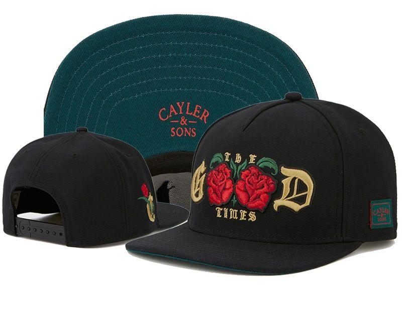 Cayler And Sons Good Rose Fresh Prince Carlton Will Ashley 90s Neon Black Snapback Hat Cap,Hot Christmas Sale, Hat,Fashion Street cap