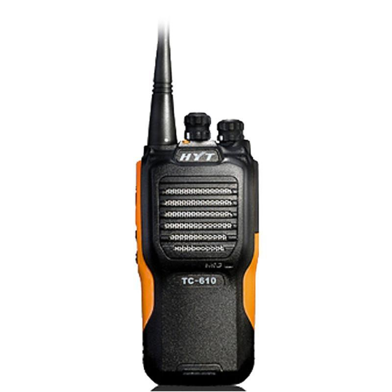 Walkie Talkie HYT TC-610 VHF 136-174 МГц 1200 мАч Стандартный аккумулятор портативный двухсторонний радио