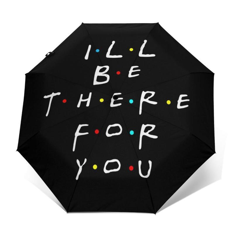 Umbrellas Friends Tv Umbrella Wind Proof Travel Stylish Automatic Painting Folding
