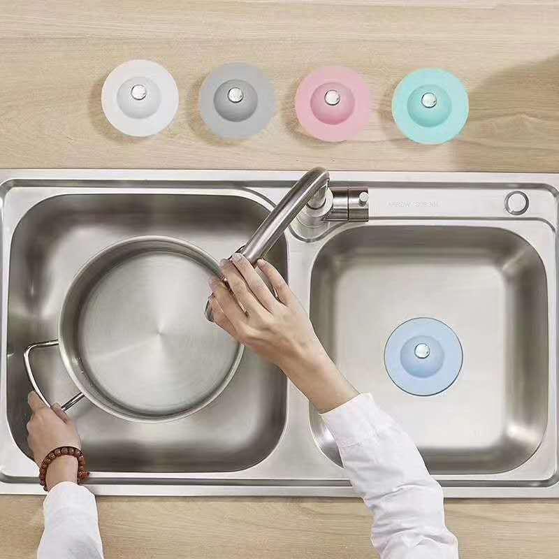Salle de bain crainte coiffeur curseur bouchon bouchon bouchon plug-à-poussoir filtre filtre housses 606 r2