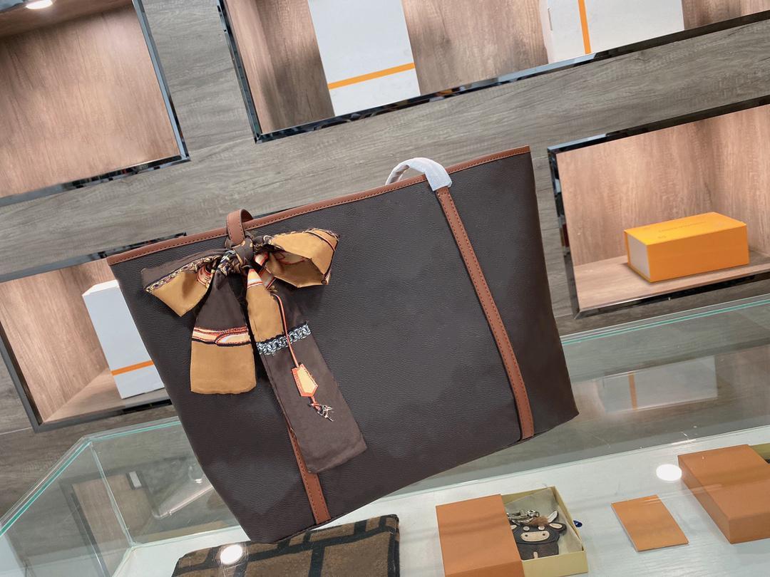 새로운 디자이너 여자 핸드백 가방 캐주얼 토트 핸드백 고품질 쇼핑백 패션 2021 대용량 여자 핸드백