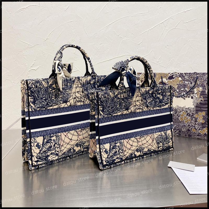 أزياء المرأة فاخر مصممين كبيرة حمل الحقائب 2021 قماش كتاب حقائب اليد 2 الحجم المرأة حقائب محفظة حقيبة الكتف حقيبة تسوق