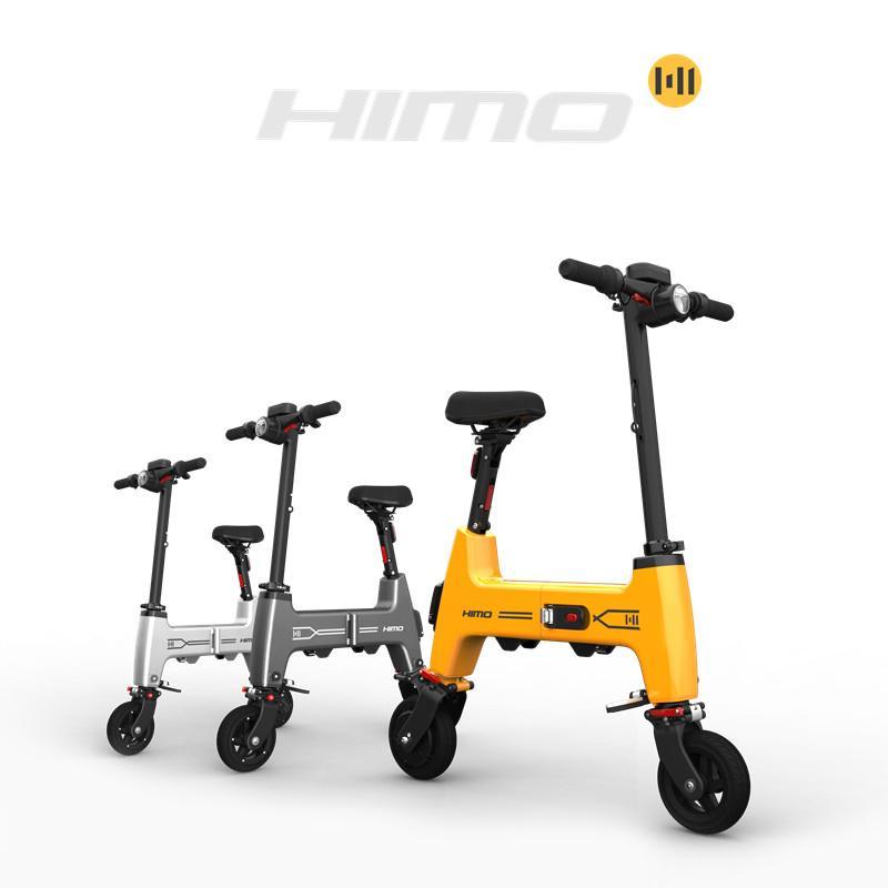 [EU لا ضريبة] هيمو H1 البسيطة ebike h1 سكوتر الكهربائية 12 بوصة 180 واط 36 فولت 7.5ah بطارية ليثيوم قابلة للطي دراجة كهربائية