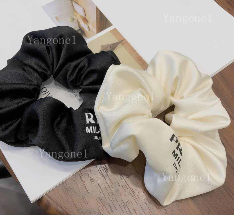 2021 Frauen Brief Haar Gummiband Bowknot Buchstaben Elastische Haare Seil Pferdeschwanzhalter Haarschmuck Geschenk