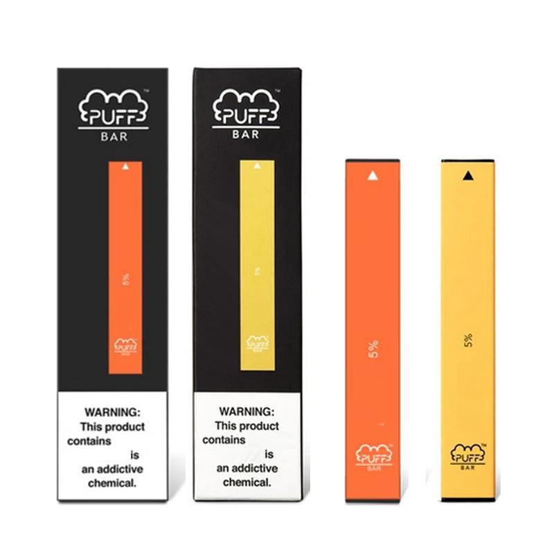 E Sigara Tek Kullanımlık Puf Vape Kiti Barlar Buhar Pen Ön Dolgulu 1.3ml Yağ Pod Cihazı Puffbar 300 Puffs 280mAh Pil Yeni Ambalaj