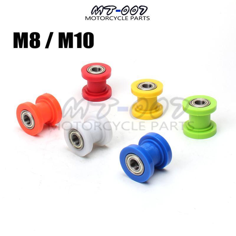 2pcs Of 8mm 10mm Chain Roller Slider Tensioner Wheel Guide Pit Dirt Mini Bike Moto Atv High Quality M8 M10 Engine Assembly