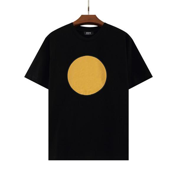 Yaz Lüks Avrupa Erkek Nakış Tshirt Üst T Shirt Moda Yüksek Kalite Tasarımcı T-shirt Kadın Sokak Rahat Tee