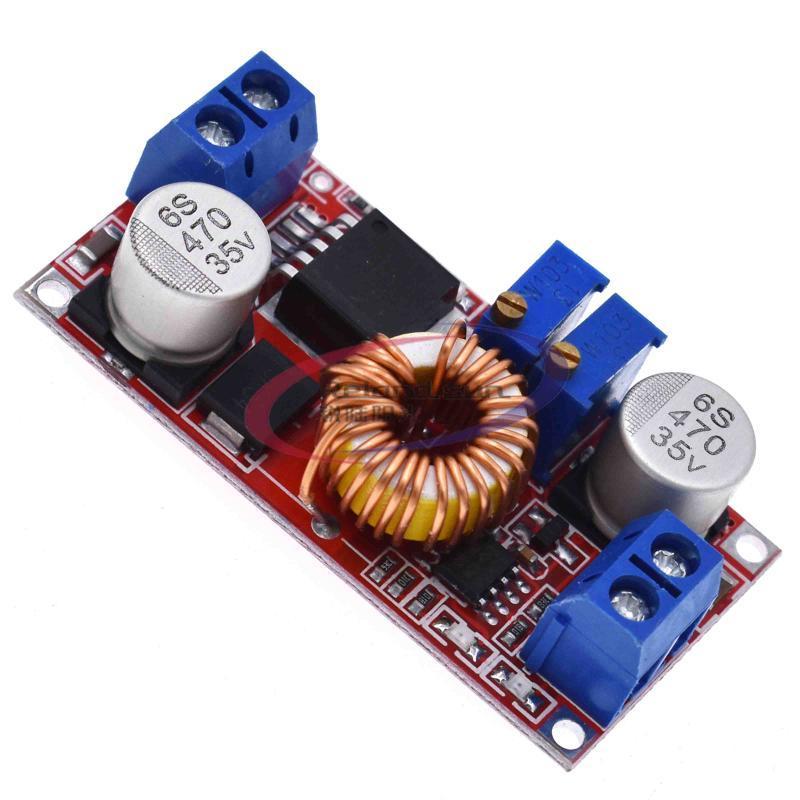 Circuits intégrés 5A CC à CV CV CV Lithium Batterie Step Down Module de chargement de la carte de charge LED Convertisseur d'alimentation Chargeur