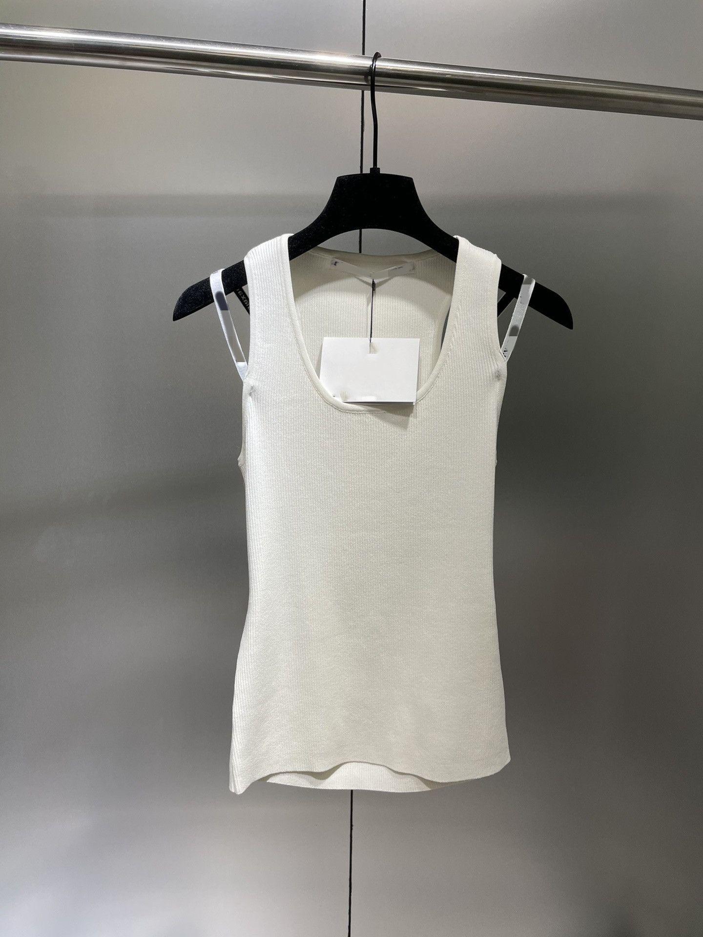 Milan Pist kadın T-shirt 2021 U Boyun Kısa Kollu Baskı Tasarımcı Mont Marka Aynı Stil T-shirt 0514-10
