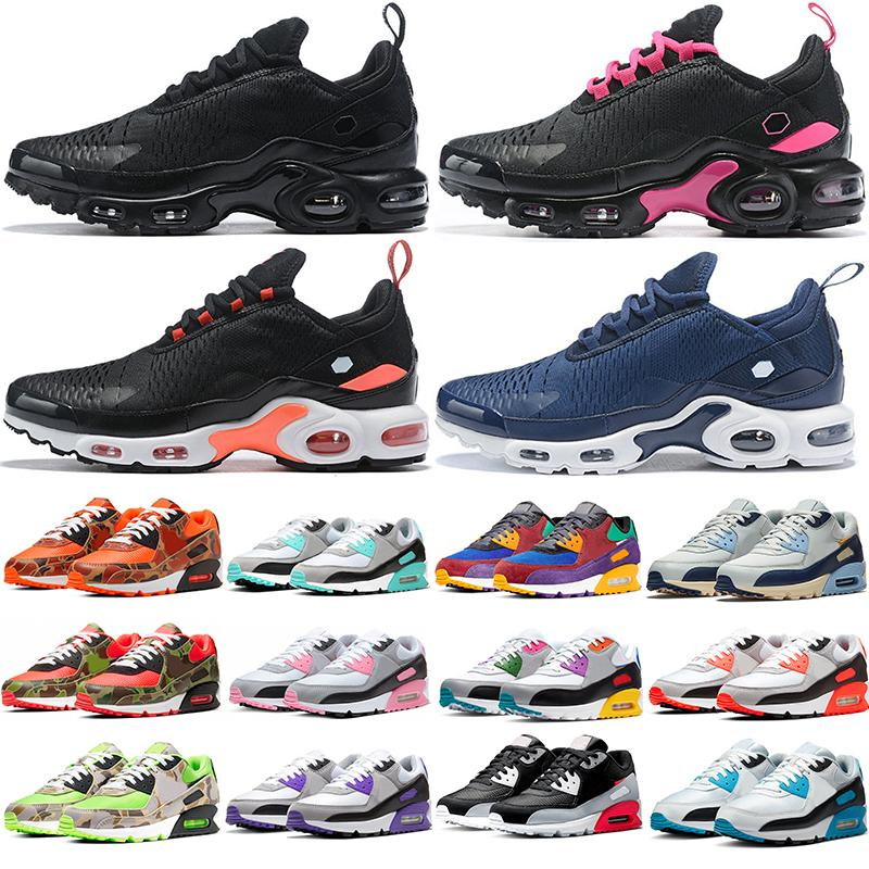 max TN NIKE AIR MAX 270 plus TN Wholesale 2019 New Design Top Quality Mens Running Shoes Chaussures Hommes Breathable Mesh Basket Requin Noir Zapatillaes Free Shipping