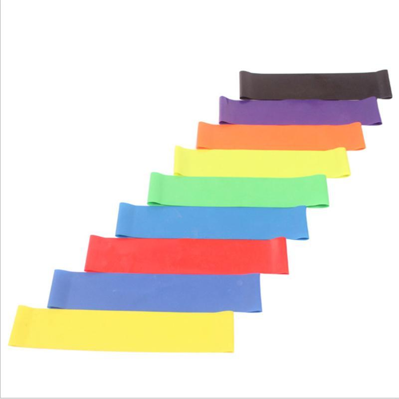 Resistance Bands Strength Training Elastic Workout Rubber Loop Band For Fitness Gym Yoga Pilates Expander
