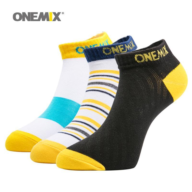 Спортивные носки Onemix мужская неделя бегущий чистый хлопок 7 пары / много дней носить для носка мужчина на открытом воздухе на случайном цвете