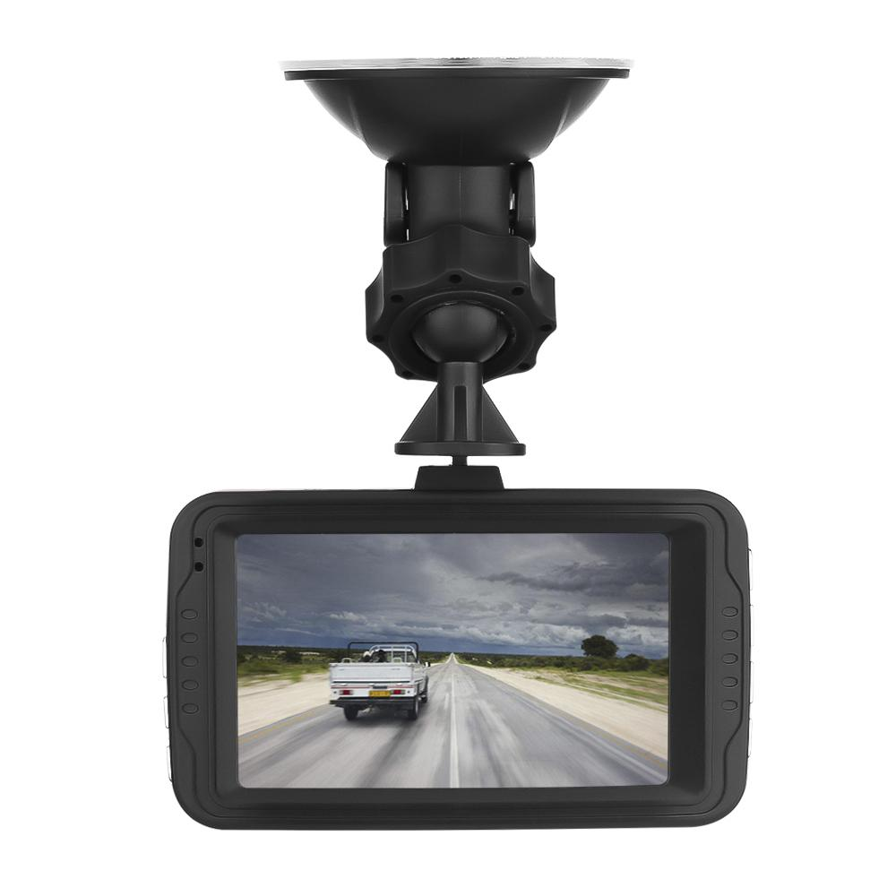 Dash Cam Car 1080P HD Driving Recorder 120 Wide Angle Dashboard Camera DVR Vehicle G-Sensor ABS Plastic