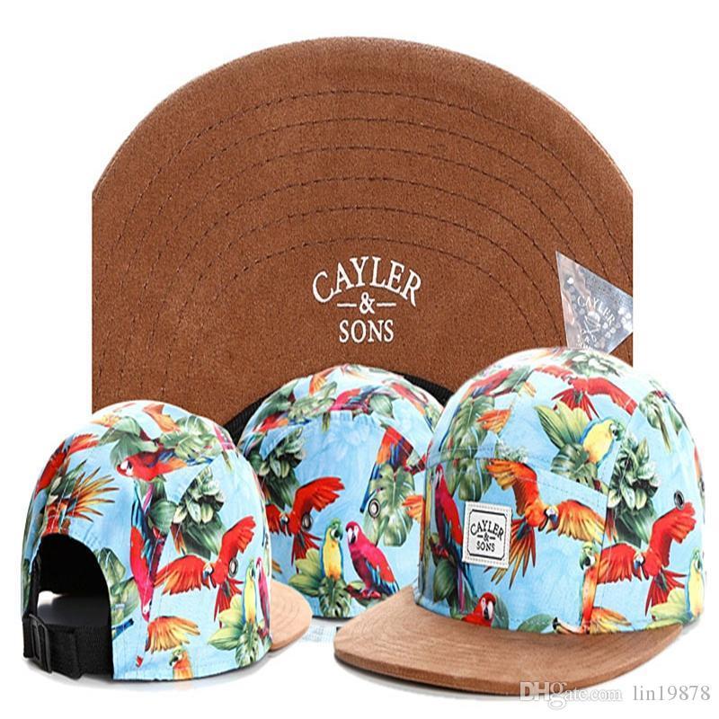 أبناء كايلر 5 لوحة snapback القبعات زهرة القيقب أوراق الهيب هوب الرجال النساء قبعة أزياء البيسبول قبعات gorras بنين الرياضة