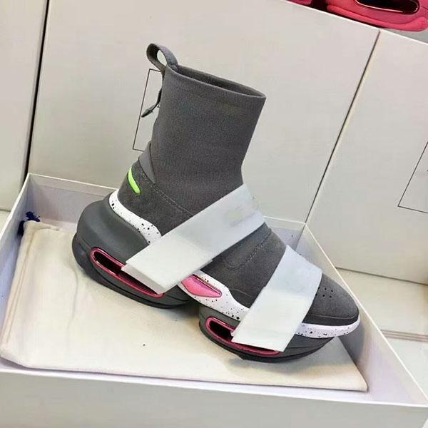 2021 클래식 최신 스타일 양말 부츠 아빠 신발, 내구성 및 비 변형, 유행 플랫폼 캐주얼 신발 크기 35-41 MB002