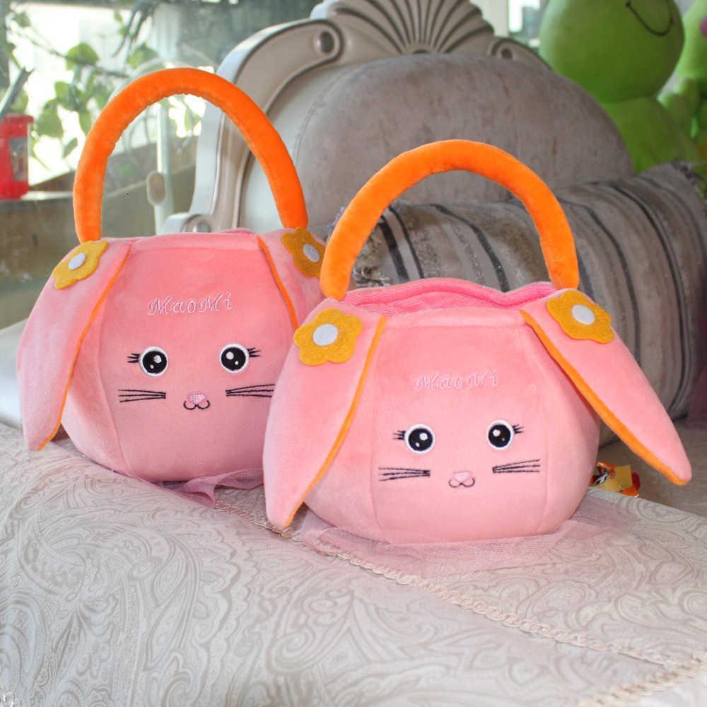 Kinder süße Spielzeug Candy Kleines Mädchen Kinder Reise Plüsch Handkorb Obst Snacksack