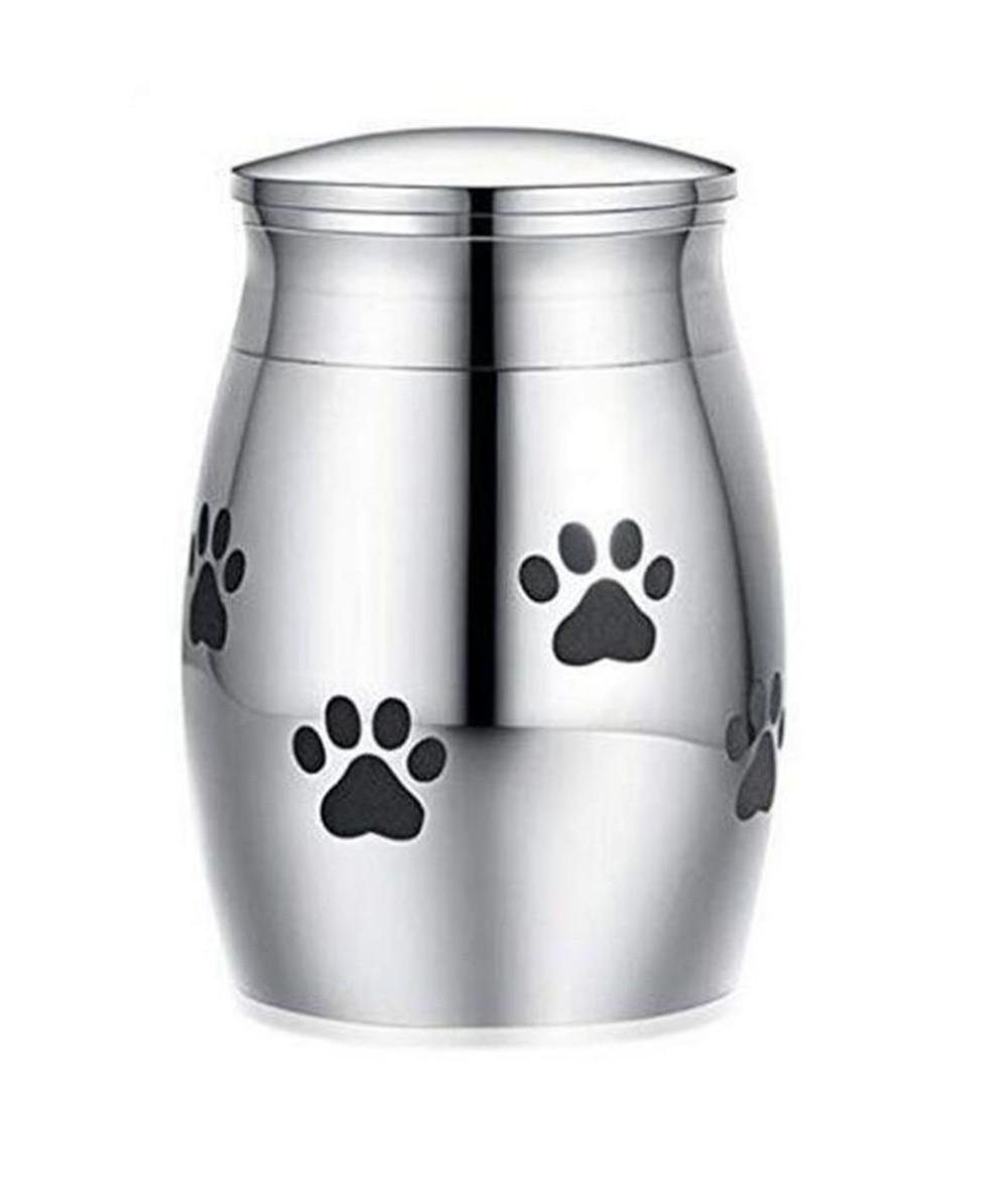 Cat Carriers صناديق منازل حرق سحني صغير urn للأحزل رماد ميني تذكار الفولاذ المقاوم للصدأ التذكارية الأورام الكلاب حامل القطط