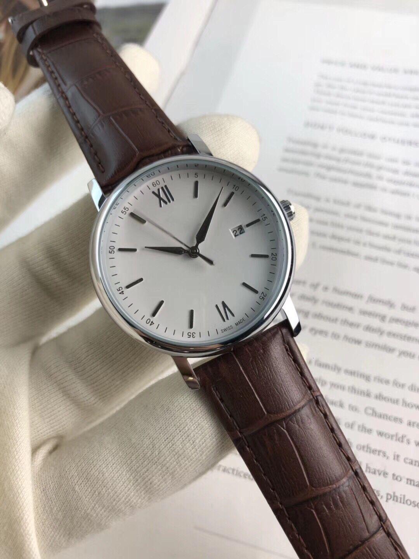 Relógios de relógios Vendendo de alta qualidade Quartzo Calendário de 3 pinos Cinema casual relógio dos homens em 2021
