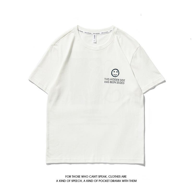 футболка персонализированная печать летняя мода мужская короткая футболка повседневная половина рукава