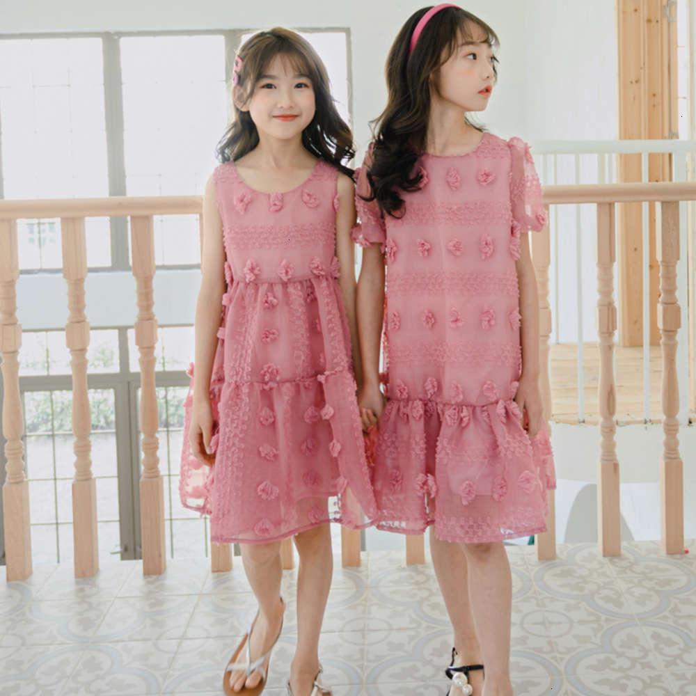 Девушки платья физические стрелкоры вышитые кружева новые детские Svels Drs летом