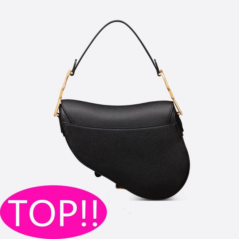 أزياء المرأة الأزرق الأسود سرج حقيبة رفرف حقيبة يد