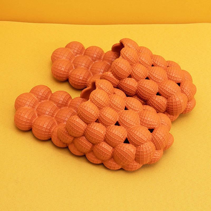 الشرائح النساء لطيف فقاعة الكرة إمرأة النعال الصيف جديد عاشق إيفا الحمام الشرائح المنزل داخلي المضادة للانزلاق الصنادل الأحذية