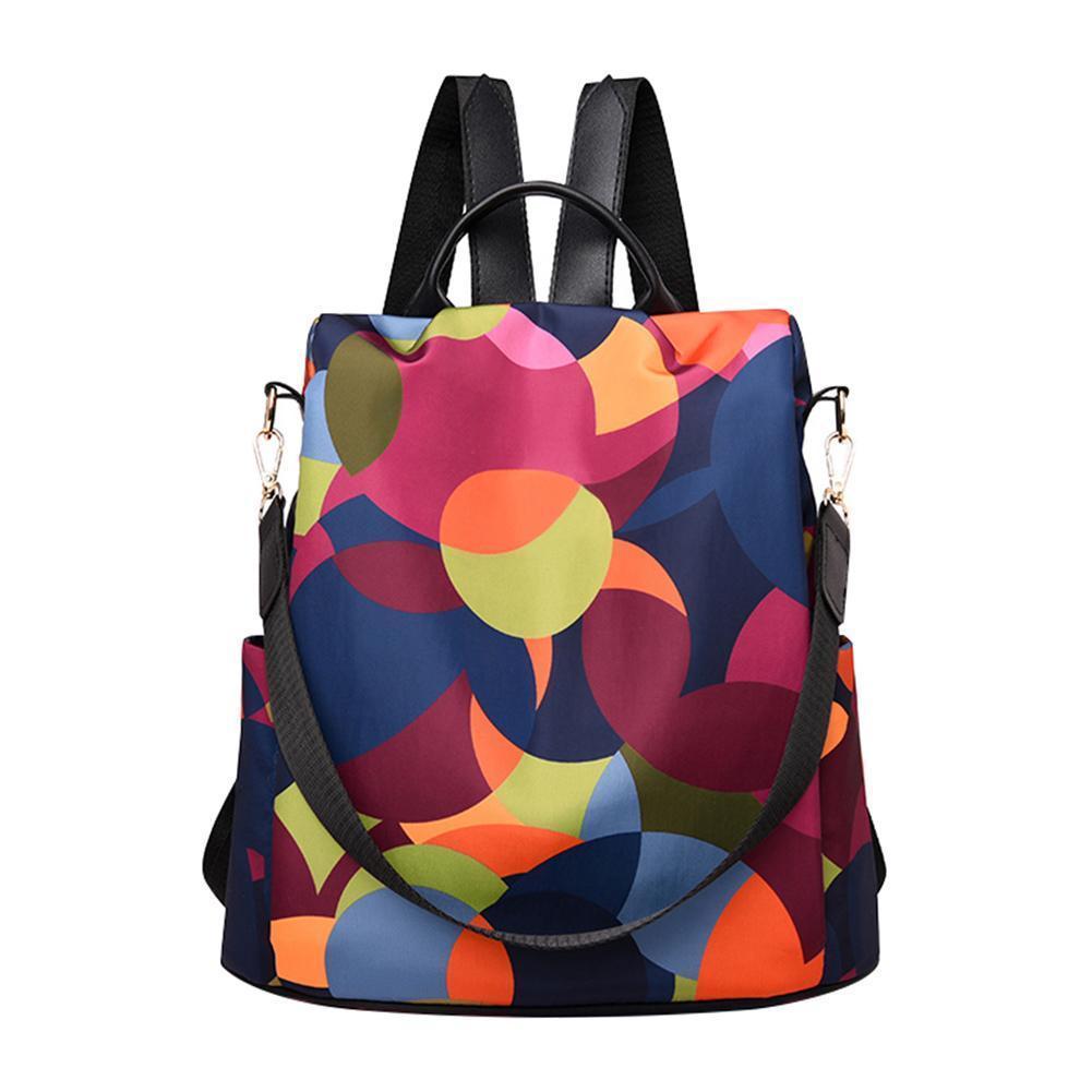Рюкзак 3-в-1 анти кражи женщины прочный ткань оксфорд плечо милый стиль девушки школьные женские путешествия
