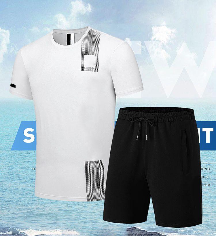 2021 Herren Designer Trainingsanzüge Sommerhemd Mode Trainingsanzug Männer Sport Anzug Küste Hemden Shirts Shorts Sets Outfits Frau Casual Sportswear zweiteilig