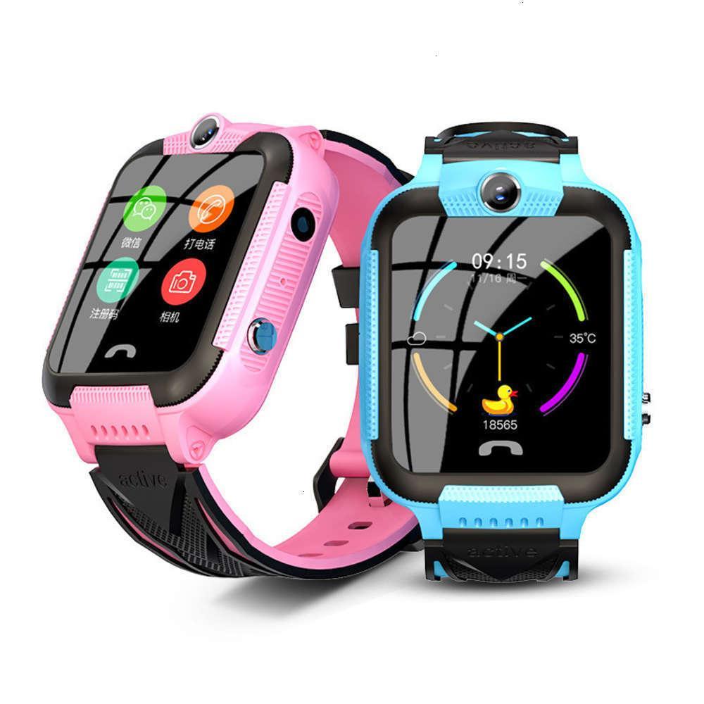Children's Watchs ShootingTouchTouch Nouveau V10 Etanche Screen Positioning Po Smart Watch téléphone