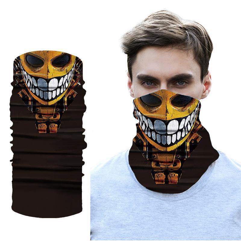 Outdoor Windproof Cycling Bandanas Tube Scarf Neck Warmer Multi Function Headband Men Women Fishing Face Head Gaiter Caps & Masks