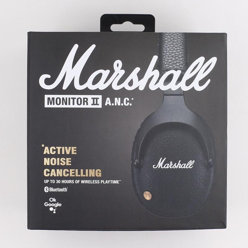 Marshall Monitor II ANC Наушники Наушники Наушники Наушники Шумоподавление Bluetooth-гарнитура с микрофоном HiFi Headsets