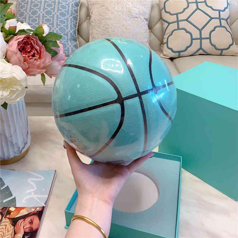 Новый т, если f y y c o. x spalding merch баскетбол коммуникативное издание PU игра девушка размер 7 с коробкой
