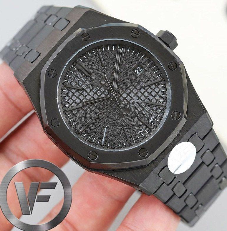 2021 Top VF Sapphire Mens Luxury 41mm Watch 2813 Movimiento automático Moda Moda Mecanical Relojes Diseñador Relojes de pulsera Deportes