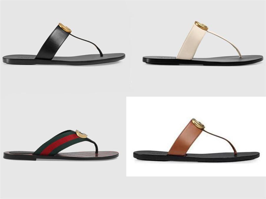 Diseñador mujer y hombres zapatillas engranajes fondos flip chanclas mujeres sandalias de lujo de moda Tamaño causal 35-45 con caja