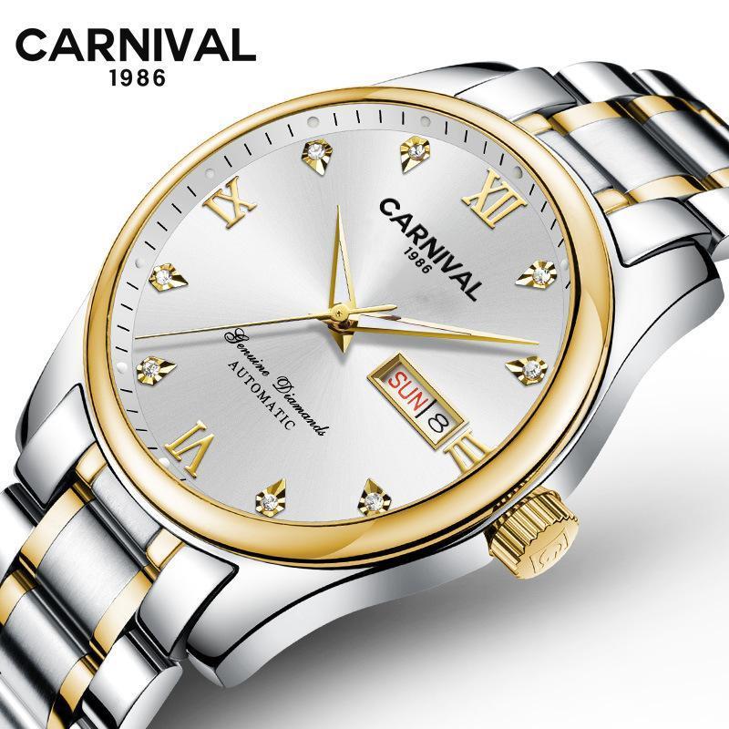 Carnival Men's Mechanical Watch Wristwatches