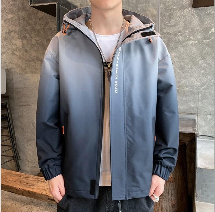 패션 하이 스트리트 남자의 후드 자켓 남성 멀티 컬러 파일럿 비행 코트 방수 남자 폭격 재킷