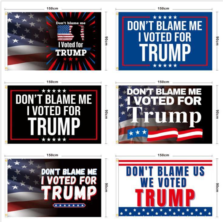 90 * 150 سنتيمتر ترامب العلم 2024 الولايات المتحدة الأمريكية رئيس انتخابات راية أعلام بايدن بوليستر ديكور حزب اللوازم 7 نمط DB837