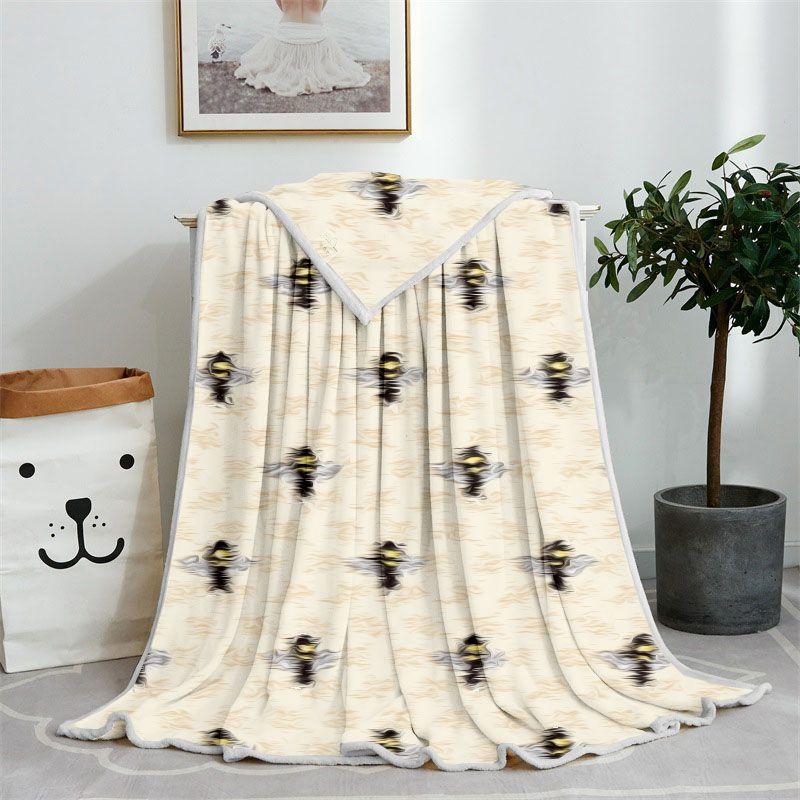 Various styles Designer Fashion Throw Blanket Soft Flannel Home Car shawl Blankets