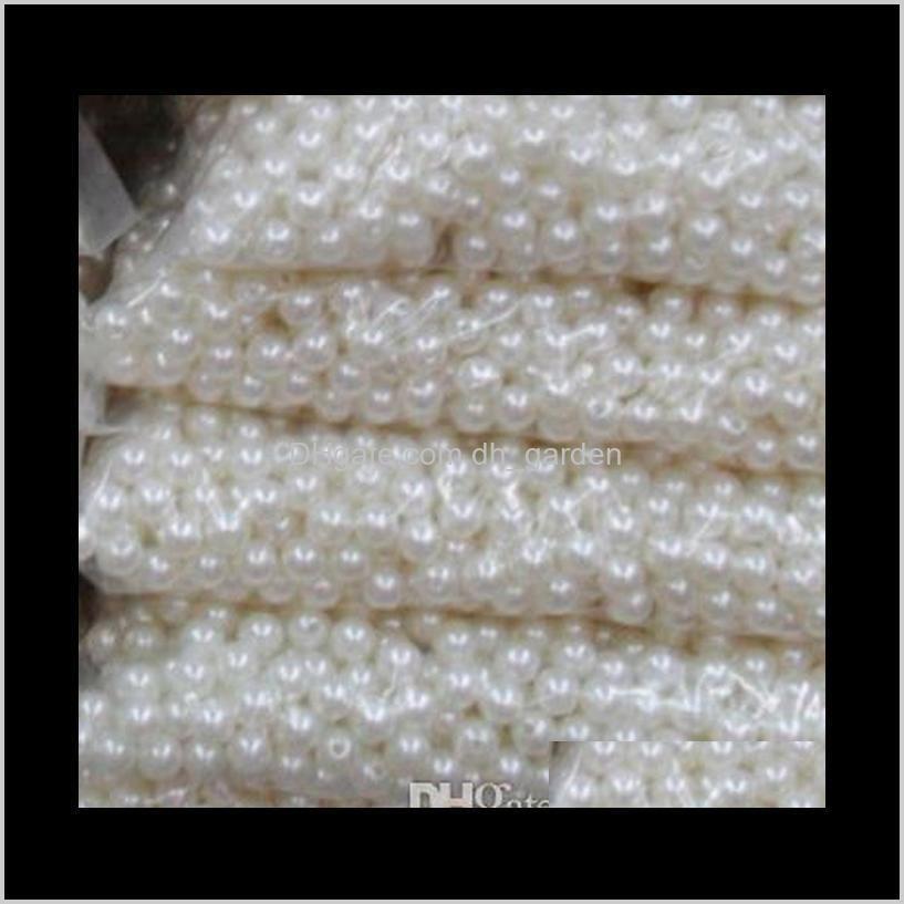 ABS lose 8mm Halsketten Baby Armbänder für die Herstellung von Perlen Schmuck China RGJSY JR1KZ