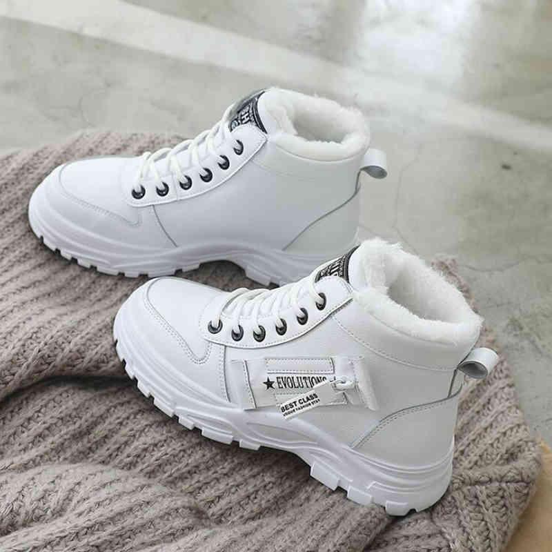 Scarpe da donna calde Scarpe da ginnastica casual per le donne Stivali Bianco Vulcanize Scarpe Moda Scarpe Moda Piattaforma Sneakers Zapatillas Mujer X0424
