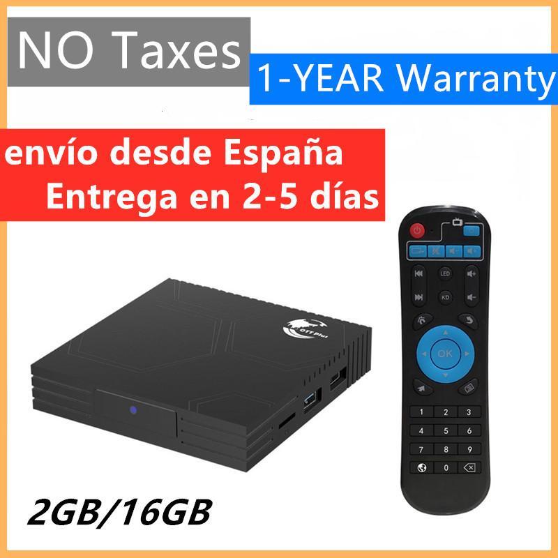 إسبانيا الأسهم Amlogic S905X3 الروبوت 9.0 صندوق التلفزيون cheapset رباعية الحبل 2 جيجابايت 16 جيجابايت 4 كيلو واي فاي مجموعة أعلى الصناديق