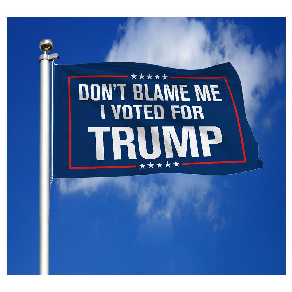 Trump Afiş Bayrakları 3x5ft Polyester 2024 Başkanlık Seçim Afiş Parti Dekor