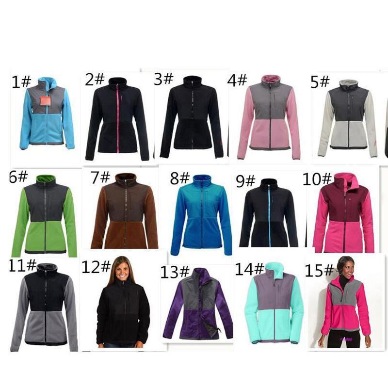Hot sell Womens Fleece Jackets Coats High Quality Brand Windproof Warm Soft Shell Sportswear Women Men Kids Coats S-XXL white pink coat