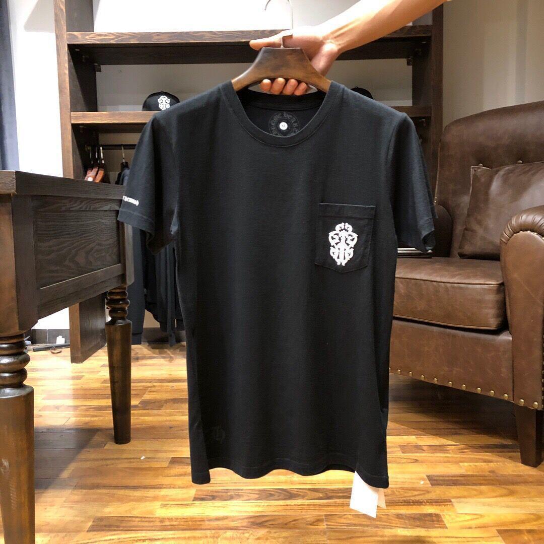 2021 Mode d'été Marque Krojia Sword Letter Impression de la baïonnette T-shirt Coton T-shirt Homme et Femme Sleeve Loversvffff