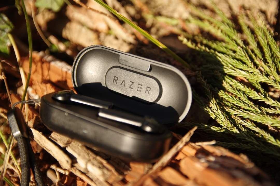 Razer Hammerhead True Wireless Headphones TWS Bluetooth 5.0 IPX4 In-Ear Earbuds Built-in Microphone On/Off Switch Earphone Headsets