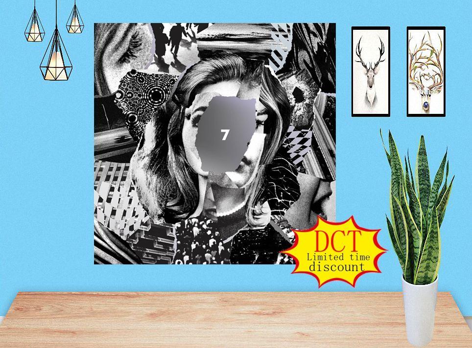 7 Beach House Album Poster Dream Pop Music Cover Arte Imprimir Música Música Cubierta Cubierta Silida Arte Imprimir